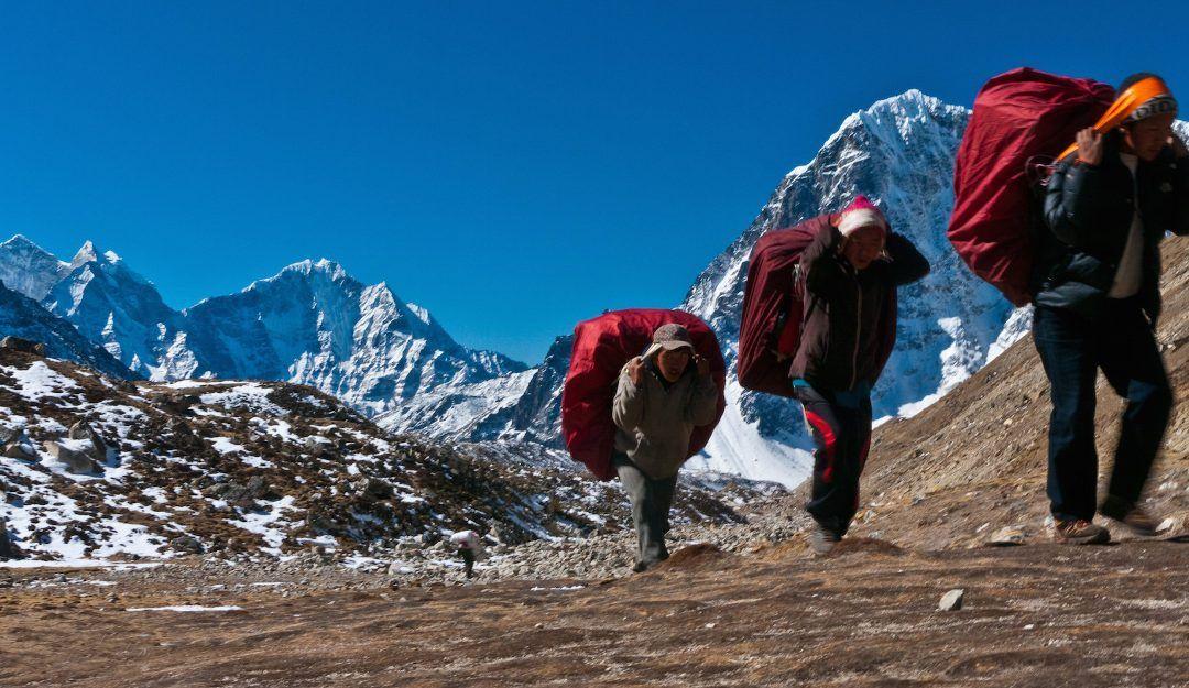 El alma de un sherpa, filosofía de nuestra empresa.