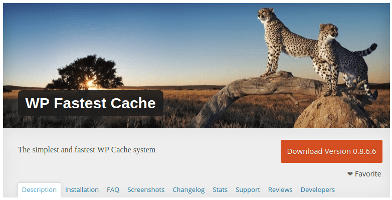 WP fastest Cache plugin para optimización de carga de una web en wordpress plugin cache