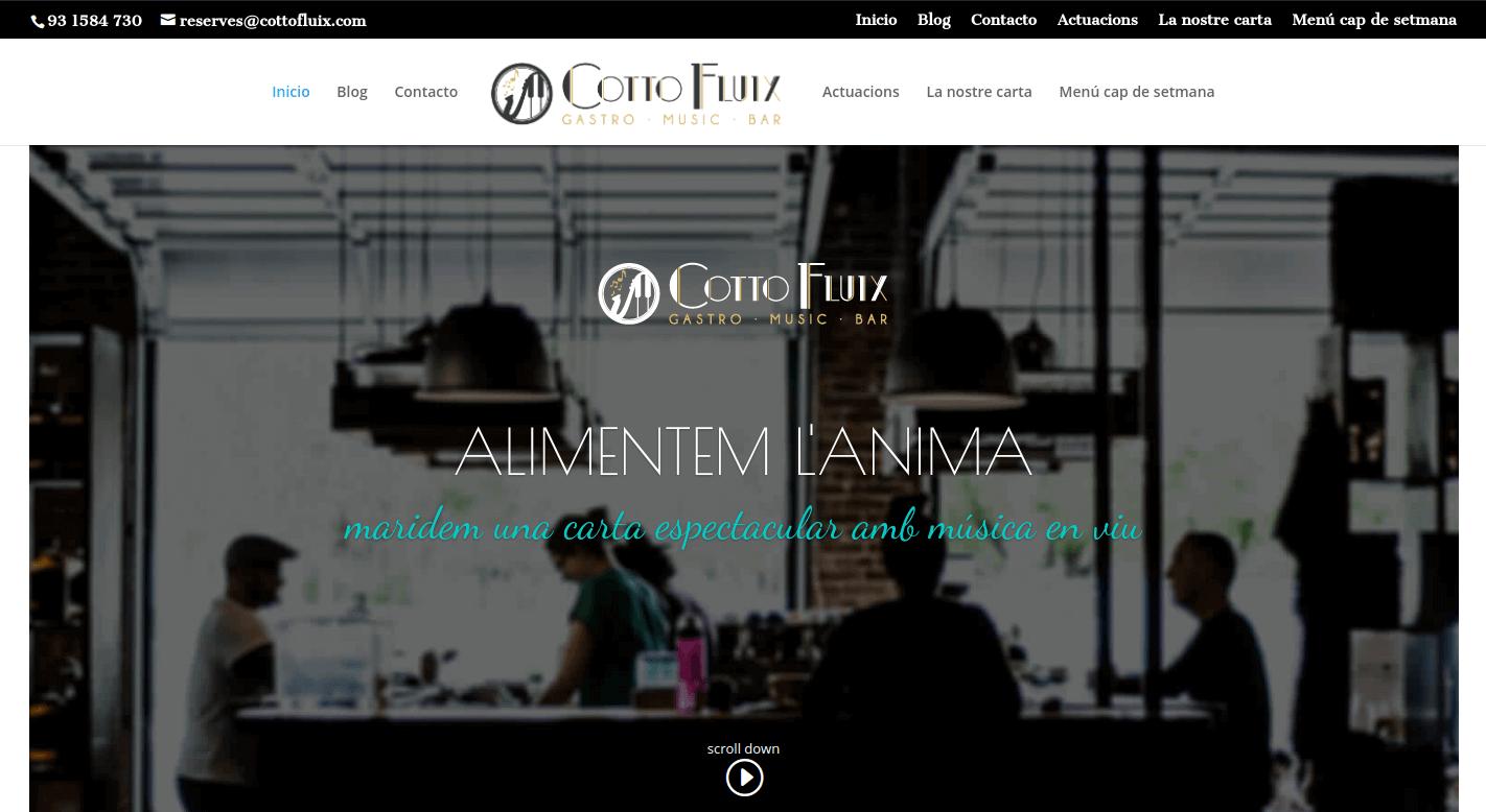 cottofluix web portfolio desmarcateya