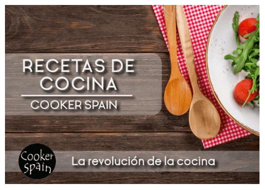 libro de recetas CookerSpain