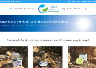 OzonoyVida – Ecommerce productos Ozonoterapia