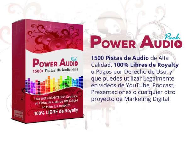 Power Audio Pack la herramienta perfecta para atenuar los ruidos de tus grabaciones