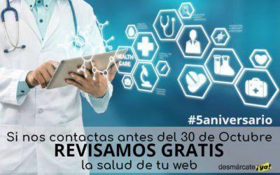 Revisión de la salud de tu web GRATIS hasta 30 de Octubre