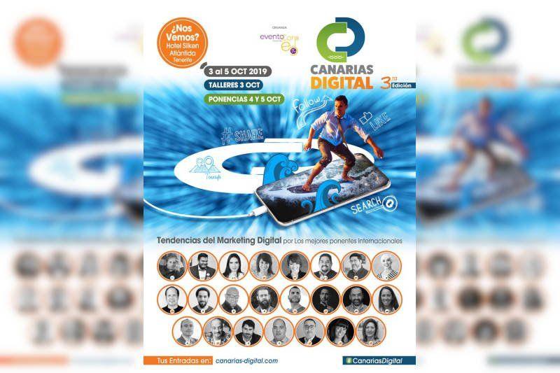 Canarias Digital un evento con grandes profesionales.
