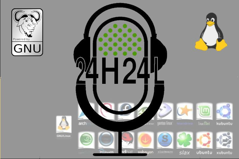 24H24L Evento sobre GNU/Linux y no, no es hacking es conocer este Sistema Operativo